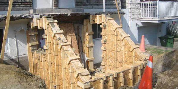 Réfection de marches en béton | Reconstruction | Montréal