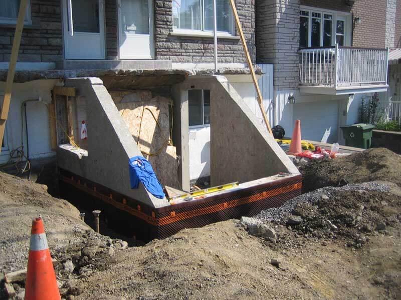 R paration de b ton montr al laval st j r me for Reparation fissure piscine beton