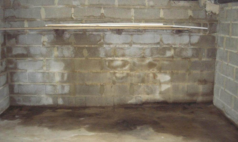infiltration d'eau béton mottillo béton