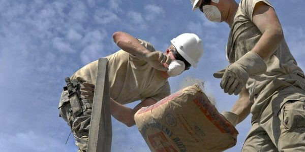 construction béton drain